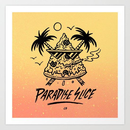Paradise Slice Art Print