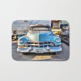 1951 Blue Cadillac Bath Mat