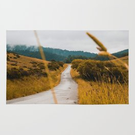 The Roadside Path (Color) Rug