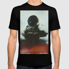 Final Eclipse Mens Fitted Tee MEDIUM Black