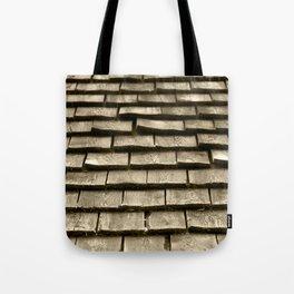Wood Roof Tote Bag