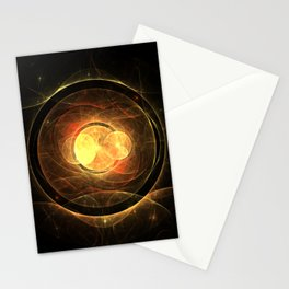 Magic Circle - Red and Gold Stationery Cards
