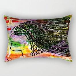 Native Tribal Rectangular Pillow