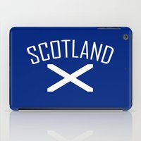 scotland iPad Cases featuring Scotland by Earl of Grey