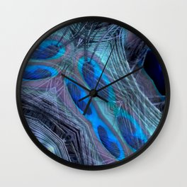 Feather Abstract Wall Clock