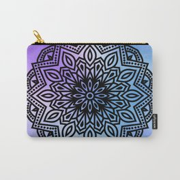 ombre mandala blue purple Carry-All Pouch