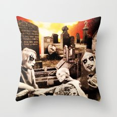 From Entombed to Exhumed Throw Pillow