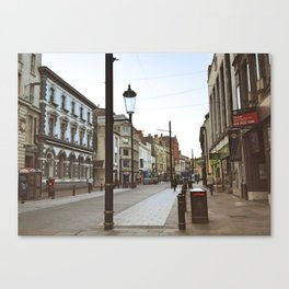 Small Town in Wales Canvas Print