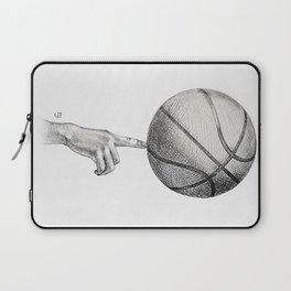 Basketball spin Laptop Sleeve