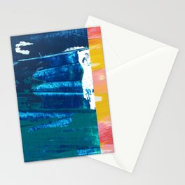 Desert Abstraction Stationery Cards