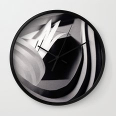 Paper Sculpture #4 Wall Clock
