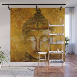 Buddha Art Wall Mural