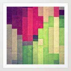 xprynng lyyns Art Print
