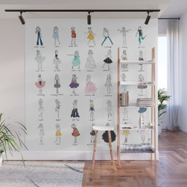 Little Sews: The Complete Collection 2018 Wall Mural