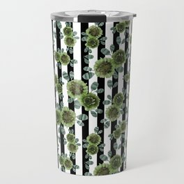Green and amazed Travel Mug