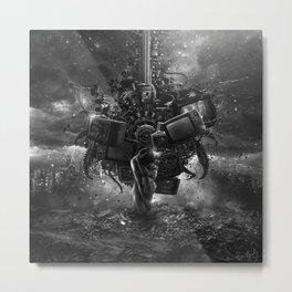 Diktat Metal Print