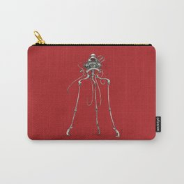 Martian Tripod Queen: Mars Red Carry-All Pouch