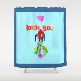 Hearth Rock You Shower Curtain