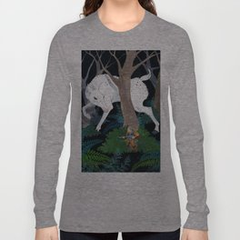 Daniel Boone's Deer Long Sleeve T-shirt