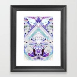 Crystal Light Framed Art Print