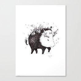 Wildboar Canvas Print