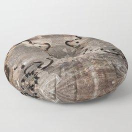 WOOD Floor Pillow