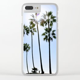 Greeting Blue Skies Clear iPhone Case