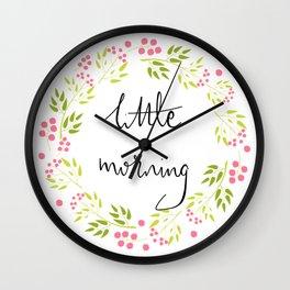 Little Morning Wall Clock