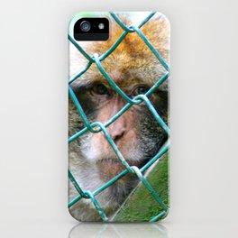 Monkey Cage iPhone Case