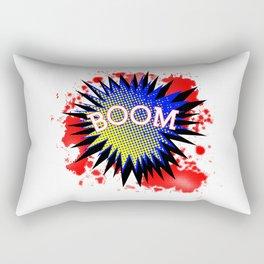 Comic Boom Rectangular Pillow