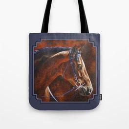 Hanoverian Warmblood Sport Horse Tote Bag