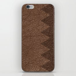 Cowhide two color iPhone Skin