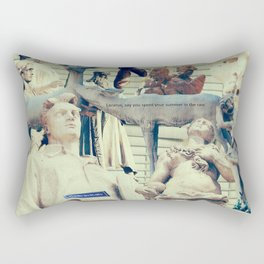 Come to me, I'll rest your soul Rectangular Pillow