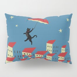 Upton The Cat And His Evening Adventures Pillow Sham