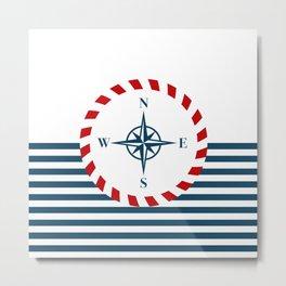 Nautical inspiration Metal Print