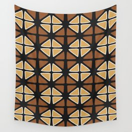 Mud cloth diamonds Wall Tapestry