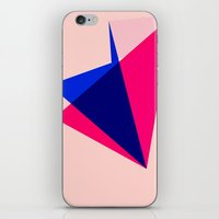 origami iPhone & iPod Skins featuring Origami by TheseRmyDesigns
