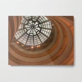 Guggenheim Museum   New York  Metal Print