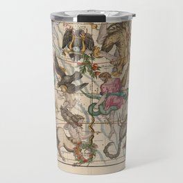 Ignace-Gaston Pardies - Globi coelestis Plate 5: Hercules, Sagittarius and other constellations 1693 Travel Mug