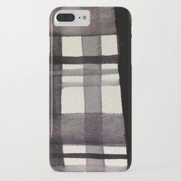 Painterly Plaid iPhone Case