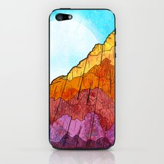 The Tall Cliff iPhone & iPod Skin