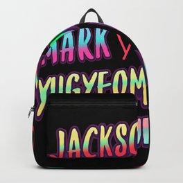 Got7 name Backpack