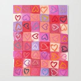 Sweet Hearts Canvas Print