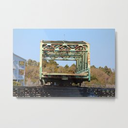 Swing Bridge Opening 2 Metal Print