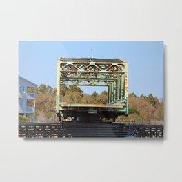 Swing Bridge Opening 2 Metal Print