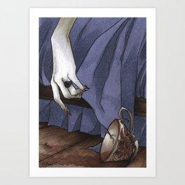 Arsenic Before Bed Art Print