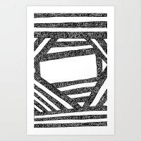 d2d - Beams Art Print