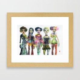 5 Springs Framed Art Print