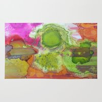 safari Area & Throw Rugs featuring Safari by Heather Plewes Art