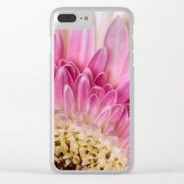 Gebera Daisy Clear iPhone Case